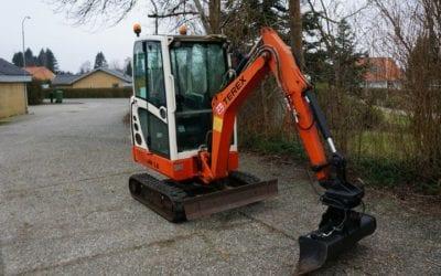 Minigraver Terex HR 16