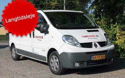Renault Trafic Van – Langtidsleje