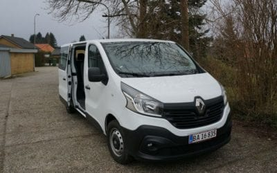 Renault Trafic 9 Personers