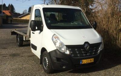 Renault Master med navigation og fartpilot