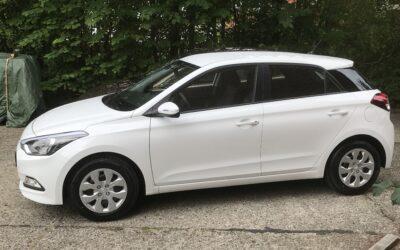 Hyundai i20 (hvid)